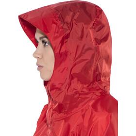 Poncho impermeable Tatonka 1 XS-S rojo